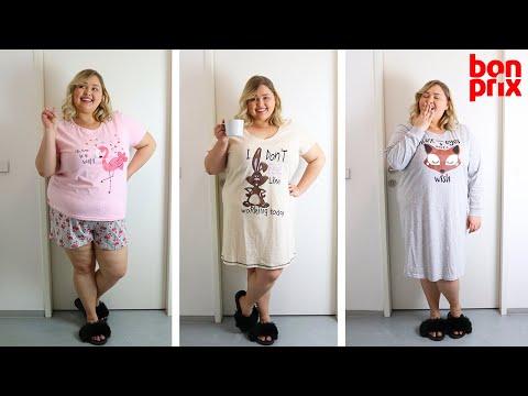 Домашняя одежда большого размера BONPRIX || PLUS SIZE Уютные платья и пижамы