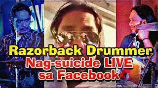 Razorback Drummer na si Brian Velasco Nag-Live Stream ng Kanyang Pagpapatiwakal sa Facebook