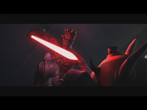 Star Wars: The Clone Wars - Savage Opress vs. Darth Maul [1080p]