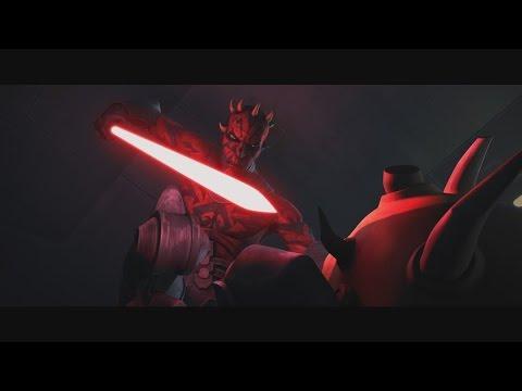 Star Wars: The Clone Wars - Savage Opress vs. Darth Maul [1080p]