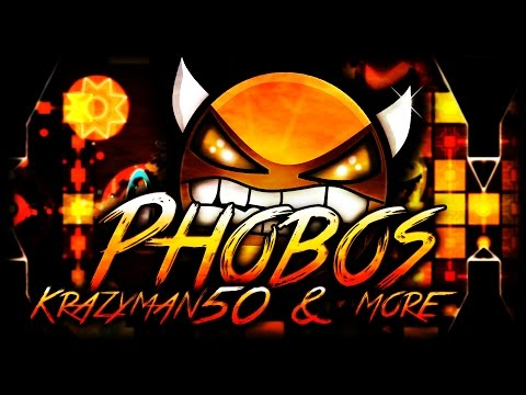 Phobos 100% by Krazyman50 & more [Geometry Dash 2.0]