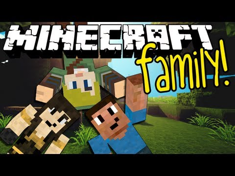 Minecraft Family #8: MOM'S FIRST TIME MINING!