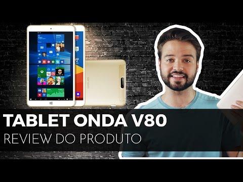 Tablet WINDOWS e ANDROID barato? | Onda V80 [ Review ] 😀