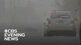 Dangerous winter weather slams U.S.