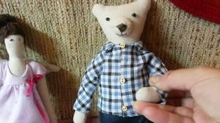 Обзор наборов для шитья. Лавандовая фея. Мишка Тедди. Супер Лисы!