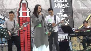 HANA菊梓喬 cover《命硬》《我好想你》@JOOX Music in the City
