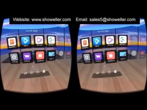 42743eb00b4 All in One VR 3D Virtual Reality Glasses android wifi 360 degree - YouTube