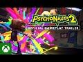 Tim Schafer يستعرض لنا لعبة Psychonauts 2
