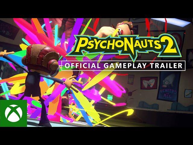 Psychonauts 2 - Official Gameplay Trailer - Xbox & Bethesda Games Showcase 2021
