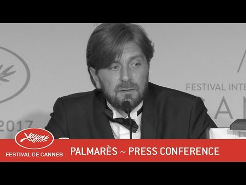 PALMARES - Press conference - EV - Cannes 2017
