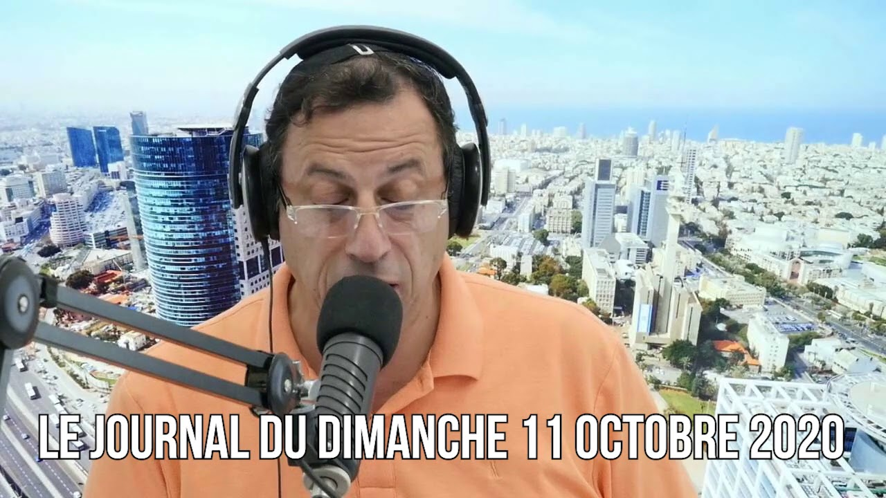 Le journal du 11 octobre 2020