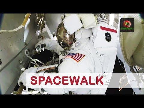 Arbeiten An Der Internationalen Raumstation  (DE) | NASA Weltraumspaziergang 41 | SCIENCO 46/2020