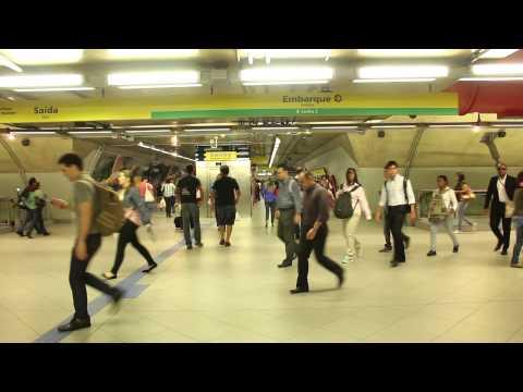 One Minute: São Paulo Metro (Paulista Station), Brazil