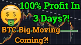 Bitcoin BTC BIG Move Coming?! 100% Profit In 3 Days! (Cryptocurrency News + Bybit Trading Analysis)