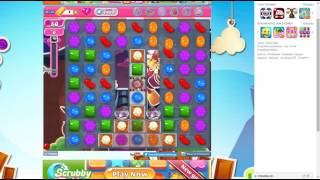 candy crush saga level 1489 no booster 3 stars 505 k pts