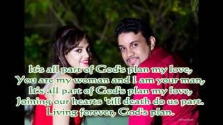 gods plan with lyrics