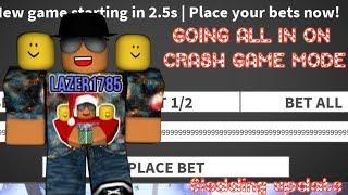 [Roblox] Case Clicker: GOING ALL IN ON CRASH GAME MODE (mise à jour de sledding)