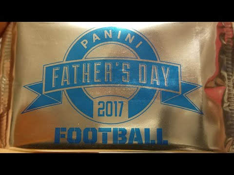 2017 Panini Fathers Day Pack Opening. 5 Thin 4 Thick
