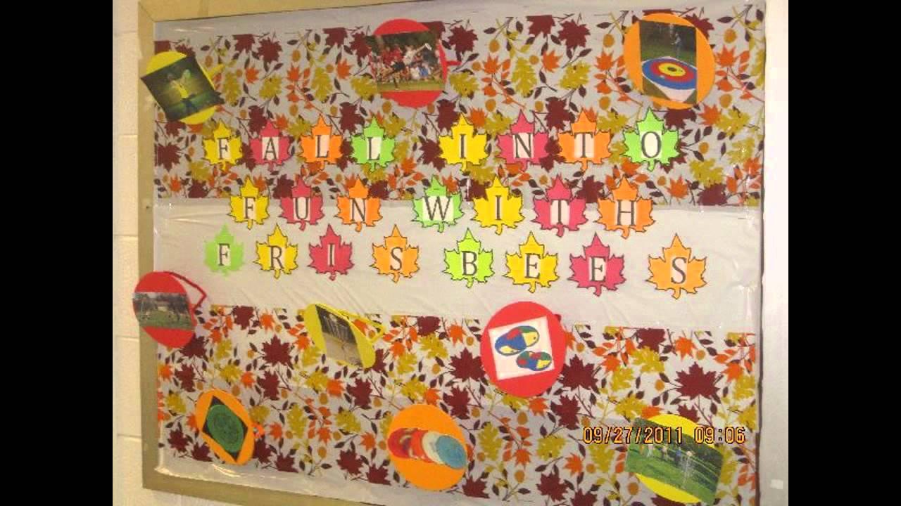 Awesome Fall Bulletin Board Ideas For Preschool Youtube