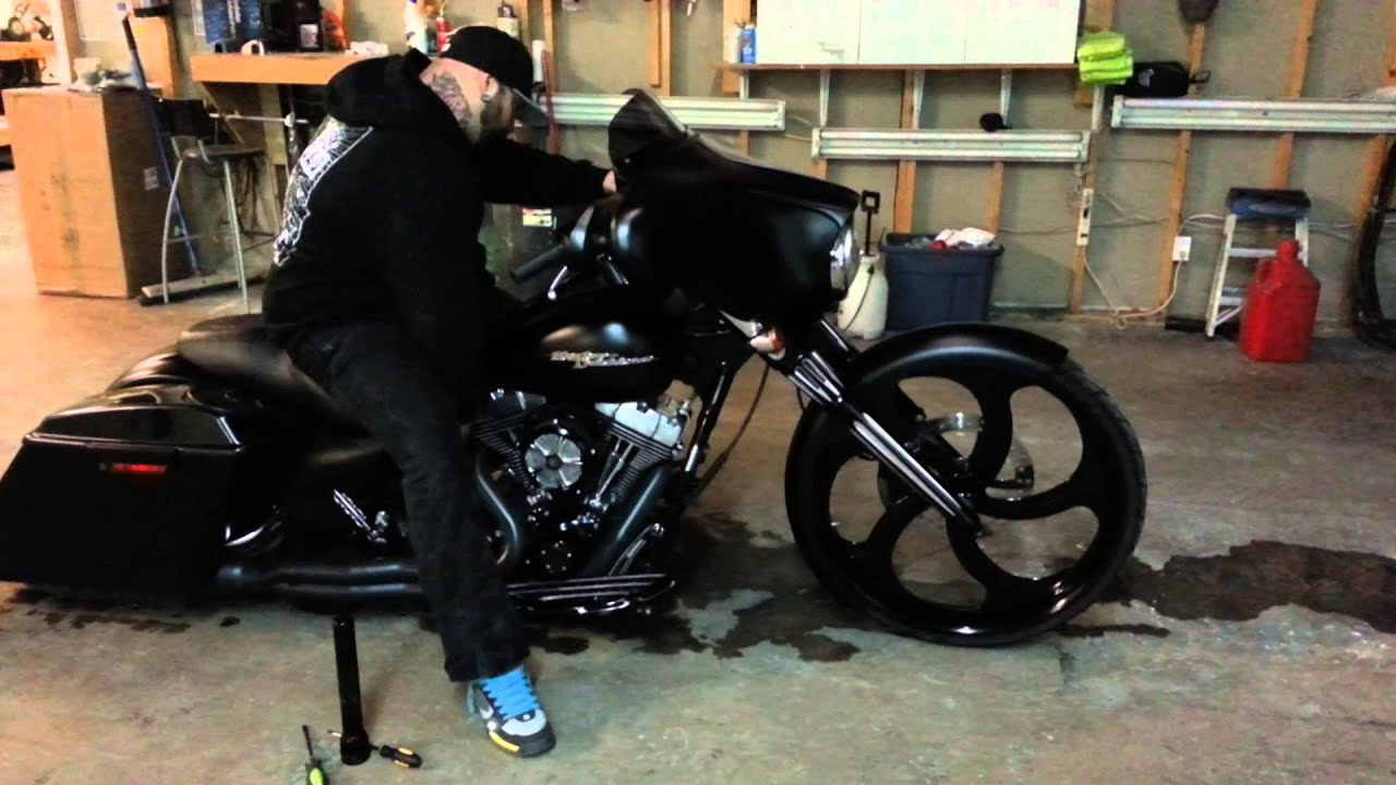 Backyard baggers air ride $2000 installed 336-755- - YouTube