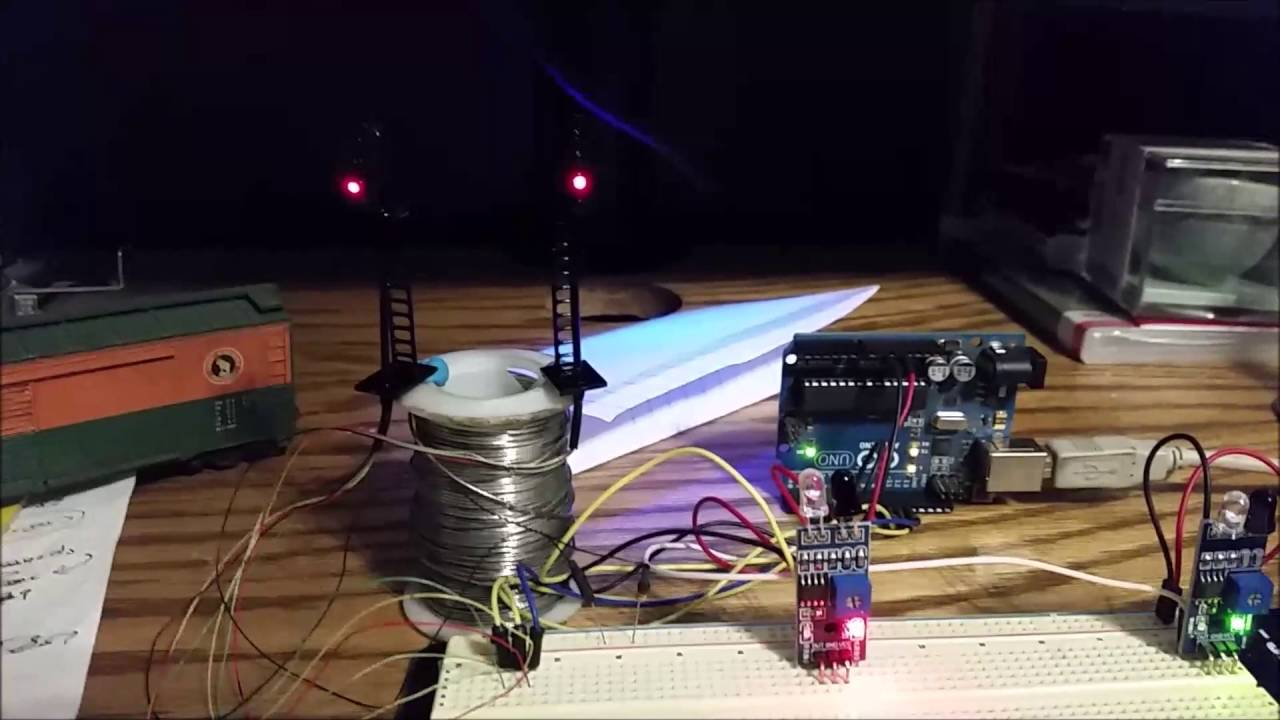 Arduino Block Detector for model Rail Road