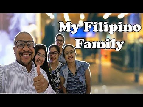 Hanging with my Filipino Family - Mall of Asia - Manila Philippines