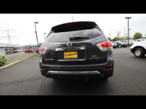2013 Nissan Pathfinder Platinum Dark Slate Stk Dc685185 Rairdons