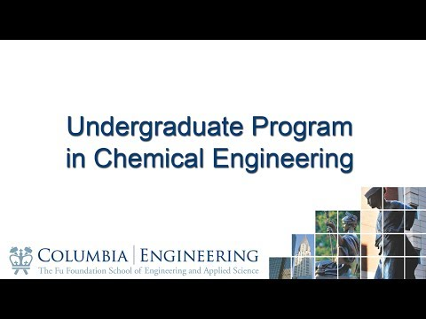 Undergraduate Program in Chemical Engineering