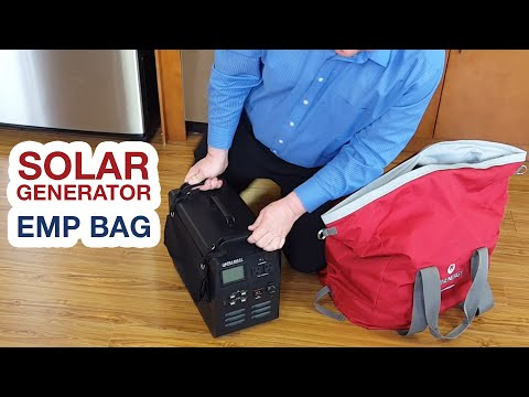 Patriot Power Generator - How to Store Generator in EMP Bag