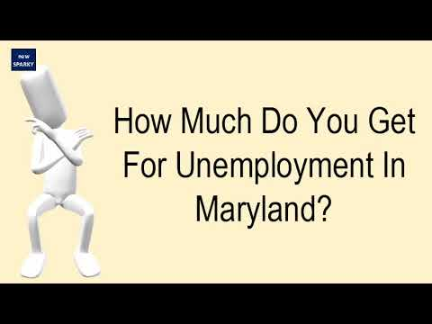 How Much Do You Get For Unemployment In Maryland?