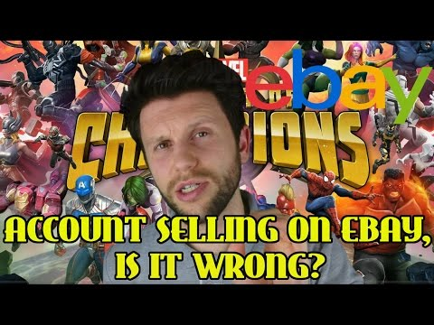 ACCOUNT SELLING ON EBAY - IS IT WRONG? [MARVEL CONTEST OF CHAMPIONS]