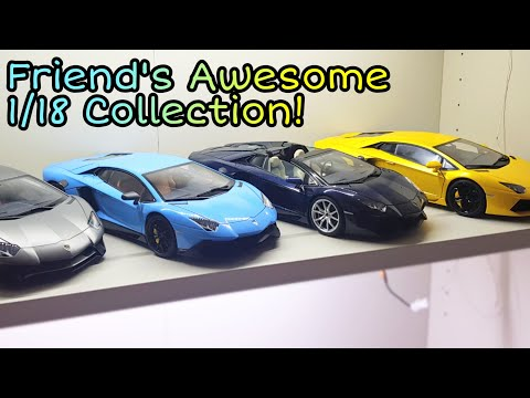 Tour Of My Friend's 1:18 Exotic Car Collection!