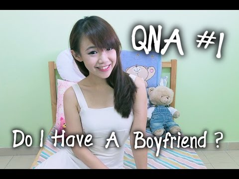 Questions N Answers | Do you have a boyfriend ? | EVALEE LIN