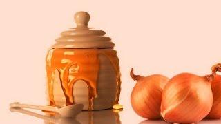 Лук и чеснок с молоком - мед  от кашля! Как вылечить кашель народные рецепты