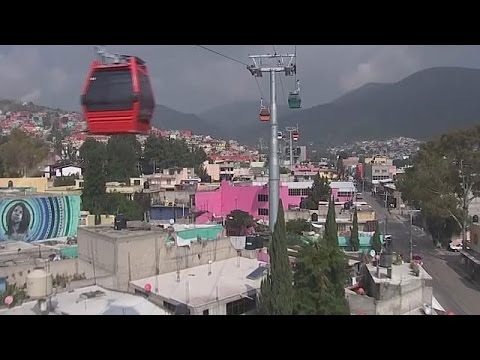 "Mexico launches ""Mexicable"" a cable car service with a difference"