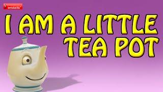 I'm a Little Tea Pot - Nursery Rhymes 3D Animated