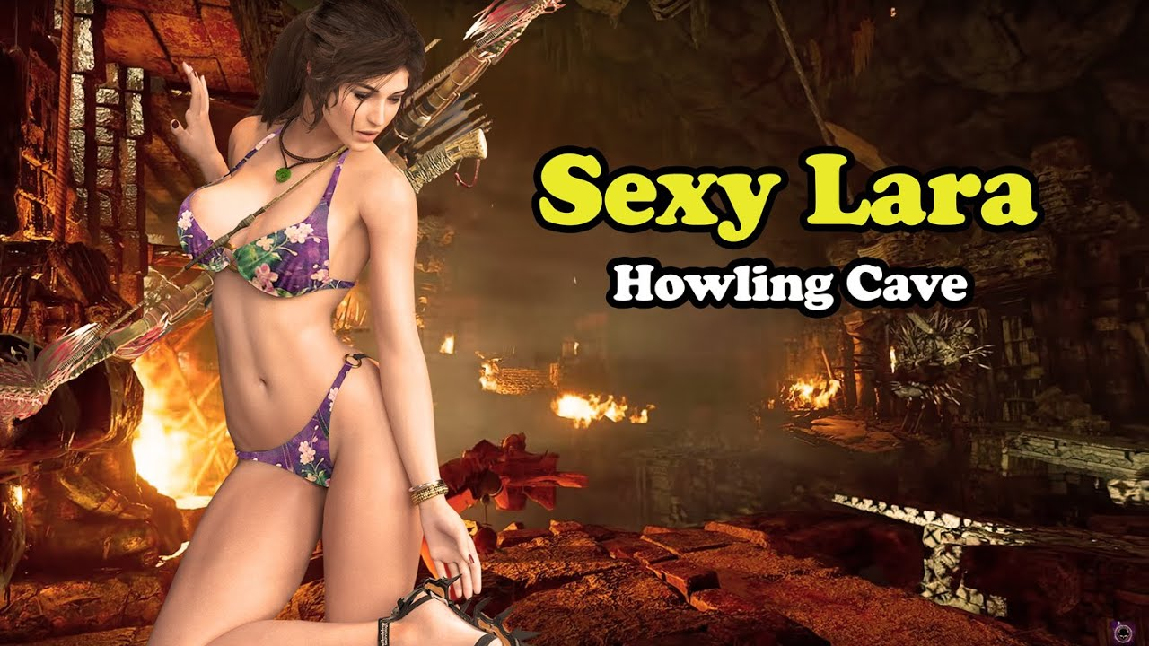 Sexy Lara Adventures: Howling Cave - Ultra Graphics [Shadow of the Tomb Raider]