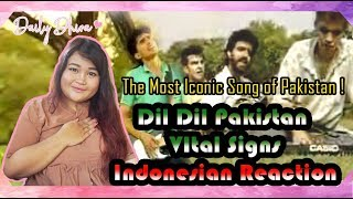 Indonesian Girl Reaction to Dil Dil Pakistan Junaid Jamshed Vital Signs | Pakistan music
