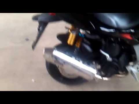 Motobravo 150cc Hornet Exhaust