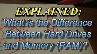 Explained: The Difference Between Hard Drives And Memory