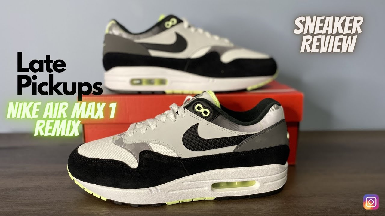 """Nike Air Max 1 """"Remix Pack"""" Unboxing On-Feet Review"""
