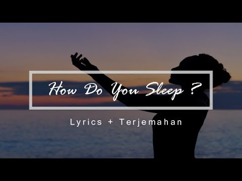 How Do You Sleep? Acoustic Cover By John Tucker (Lyrics + Terjemahan Indonesia)