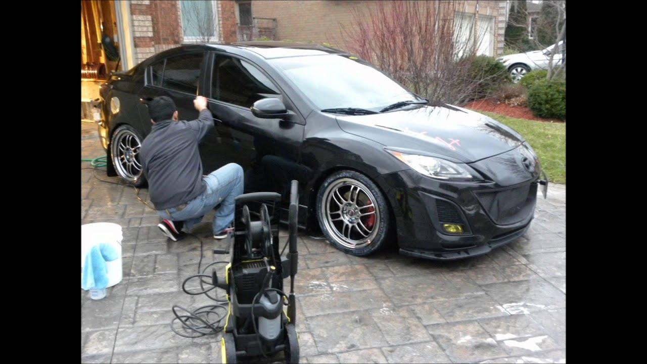 Black Mazda 3 Black Mazda 3 Detailed By Ecc Youtube