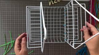 Dollar Tree DIY Craft Organizer Caddy - Multipurpose - Easy Less than $4