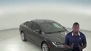 A97202TA - Used, 2015, Chrysler 200, S, AWD, Gray, Test Drive, Review, For Sale -