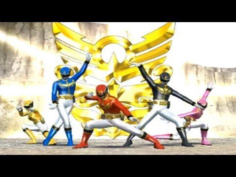 Super Sentai Battle Ranger Cross Wii (Goseiger) Compilation HD