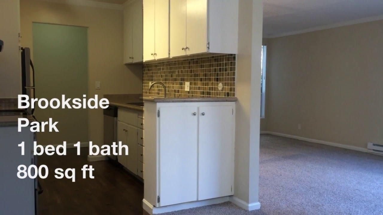 Brookside Park Apartments Mountain View California 1 Bedroom 1 Bath  Apartment Video Tour 800 Sq Ft   YouTube