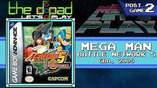 """Anxiety Is Running Our Lives"" - POSTGAME PART 2 - Mega Man Battle Network 5: Team Colonel"