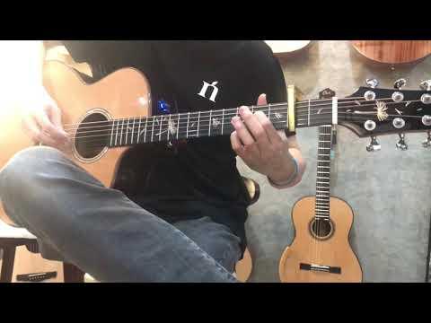 Kiss The Rain' Natasha Guitar JC2 With EQ Review By Citara House Of Guitar