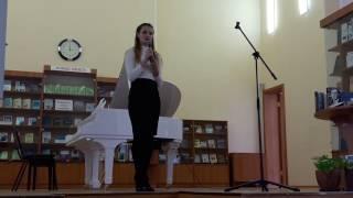 «Довольно» исполняет студентка ИГЭУ Анастасия Соминкина
